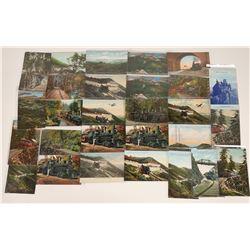 Mt. Tamalpais Scenic Railway Postcards - 25  [128996]
