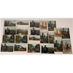 Mt Tam Adverts & Tourist Postcards (20)  [127719]