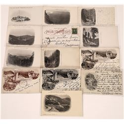 Mt. Tamalpais Pioneer Postcards (13)  [127718]