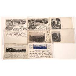 Mt. Tamalpais Pioneer Postcards (7)  [128991]