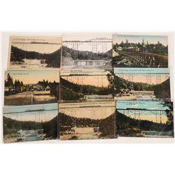 Nevada City Narrow Gauge Railway, California, Postcards - 7 color; 2 B&W  [129015]