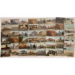 Pomona, California Postcards  (70)  [128943]