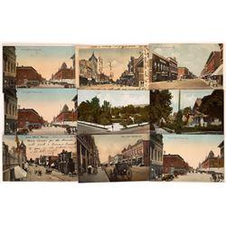 Pomona Street Scene Postcards (9)  [128935]