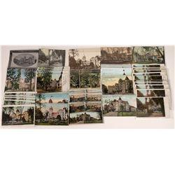 Hotel Vendome of San Jose, California, Postcards ~ 40 Chromo; 5 B&W  [129378]