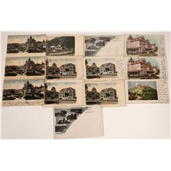 Pioneer Mailing Cards, San Jose, California Postcards ~ 13  [129379]