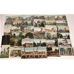 San Jose, California Building Postcards ~ 43 color; 6 B&W  [129380]