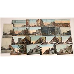 San Jose, California Street Scene Postcards ~ 20 Color  [129381]