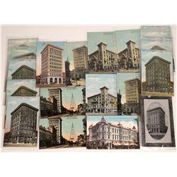 San Jose, California, Bank Postcards ~ 23 Color; 1 B&W  [129387]