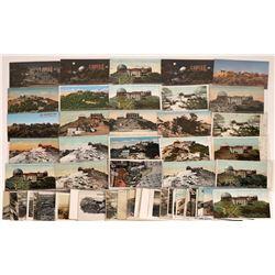 San Jose, California, Postcards of Mt. Hamilton and Lick Observatory ~ 39 Color; 24 B&W  [129393]