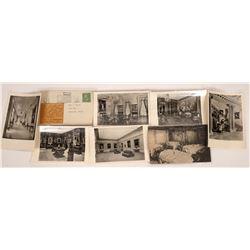 San Marino, California Postcards - 8 B&W  [129362]