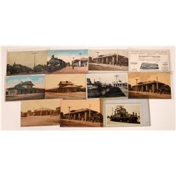 RPC's of Santa Rosa, Petaluma Railroad Depots (11)  [127701]