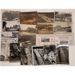 Santa Rosa to Calistoga Road, California Postcards - 19 B&W  [129365]