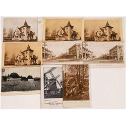 Sebastapol, California Postcards ~ 9 B&W  [129047]