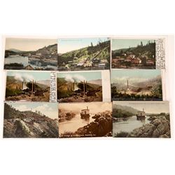 Smelting and Dredging Postcards from Shasta Co., California ~ 9 pcs  [129036]