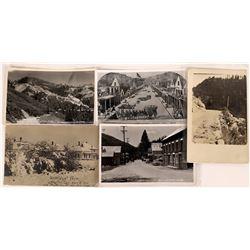 Sierra Co., California Postcards ~5 RPCx  [129030]