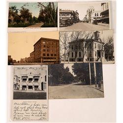Early Stockton, California Postcards ~ 6  [129043]