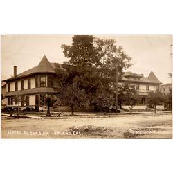 Hotel Algonquin Upland Calif. RPC  [129830]