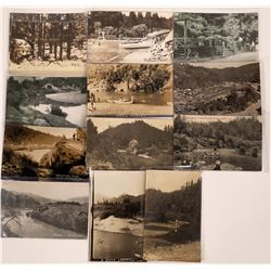 Vacation Beach Resort, Californa Postcards - 14 B&W  [129369]