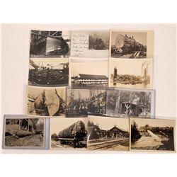 Great Calif Logging Postcards.  [122394]