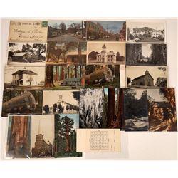 Calaveras Co., Amador Co. & Big Trees, California Postcards ~ 22 pcs  [129031]