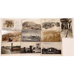 California Gold Mining & Dredging Postcards - 10 pcs  [129035]