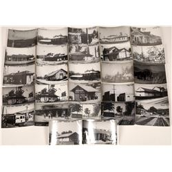 California RR Depot Postcard Reproductions (26)  [127704]