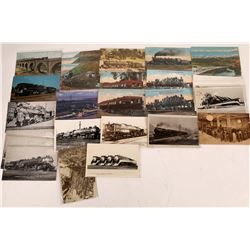 Southern Pacific RR in California Postcards - 14 Color; 15 B&W  [129006]