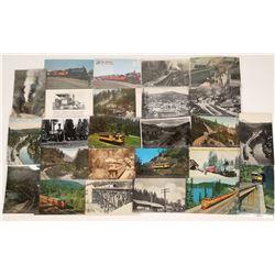 Various California Railroad Postcards - 25  [128927]