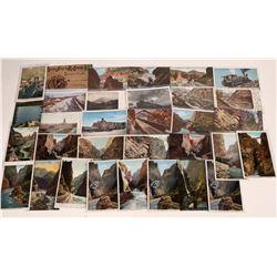 Colorado Railroad Sights and Scenes Postcards [126898]