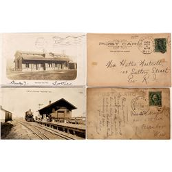 Railroad Station RPC's (2)  [128999]