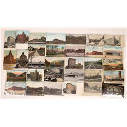Railroad Themed Postcards of Pennsylvania (30)  [128992]