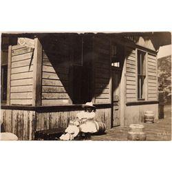 Park City, Utah Depot or Denver & Rio Grande RR Postcard - RPC  [129044]