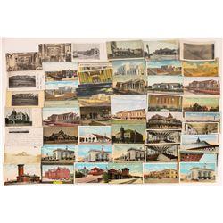 Nebraska, Kansas, & Iowa Railroad Postcards - 46 Color; 11 B&W  [129010]