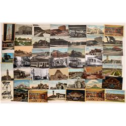 Ohio and Indiana Railroad Postcards - OH:32, IN:19    [129005]