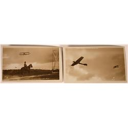 Early Aviation Real Photo Post Cards  [127938]