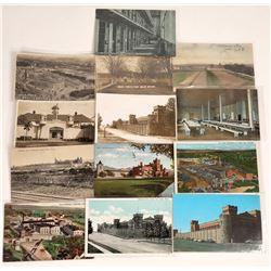 Prison Postcards, Western US ~ 5 B&W   [129020]