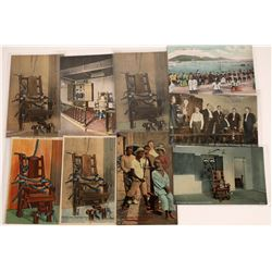 Execution by Electric Chair and Garrotte Postcards  [129019]