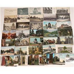 Cemeteries, Tombs, Mortuaries, and Memorial Postcards ~61  [129024]
