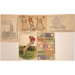 Cut Out Cards and Reproducing Postcards (5)  [118805]