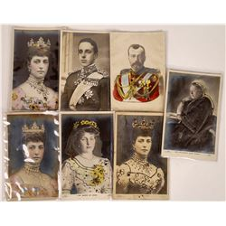 Bass Relief Royal Themed Postcards (8)  [131513]