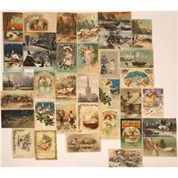 Hold to the Light- Christmas Postcards Collection (35)  [118800]