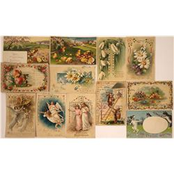 Hold to the Light- Easter Postcards (12)  [118808]