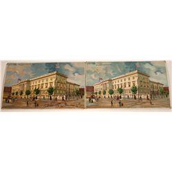 Hold to the Light- Numismatics U.S. Mint 1907 Rare Postcards (2)  [118532]