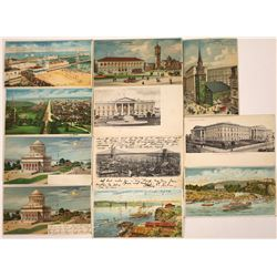 Hold to the Light- NY, Boston, NJ, Washington D.C. Postcards (11)  [118533]