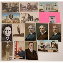 Mid Modern Era Presidential Postcards  [129873]