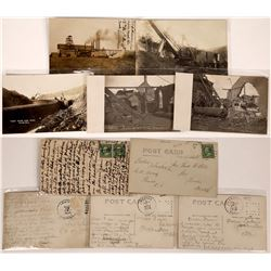 Old Mining Postcards from US Locations -  5 RPCs  [129037]