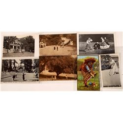Postcards of Croquet Locations  [129878]