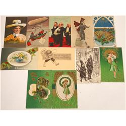 Women's Suffrage, New Year's, St. Patrick's Day and Other Various Postcards (11)  [118802]