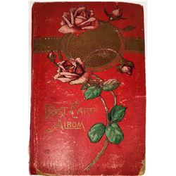 Original Holiday and Greeting Postcard Album (179 cards)  [131309]