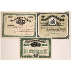 Three Arizona Mining Stocks  [128835]